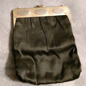 Vintage satin clutch